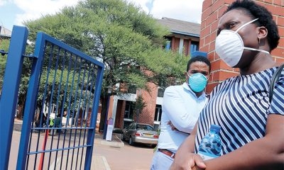 Masks won't stop COVID-19 pandemic