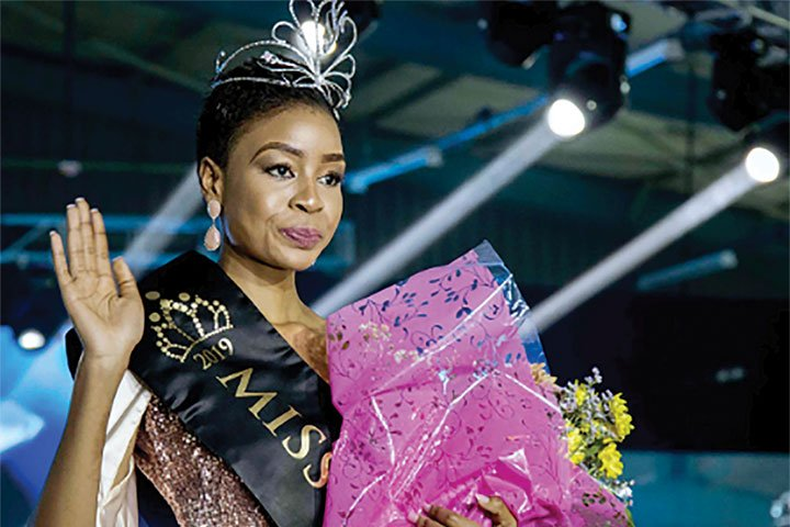 Miss Botswana 2020 On Off Weekend Post