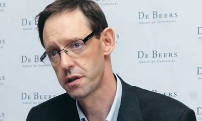 De Beers' CEO Bruce Cleaver
