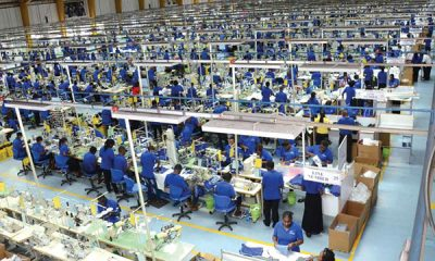 Export Processing Zone (EPZ) factory in Kenya