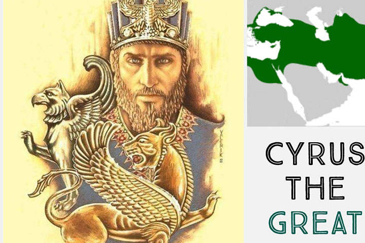 In 538 BC, Cyrus, ruler of the Persian Empire
