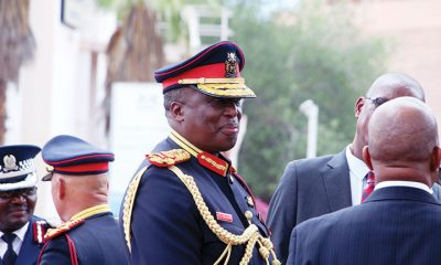 BDF Commander: Lt General Placid Segokgo
