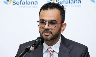 Finance Director Mohamed Osman