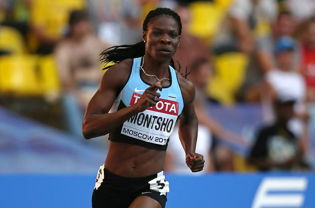 Amantle Montsho became the last athlete to qualify for Tokyo 2020.